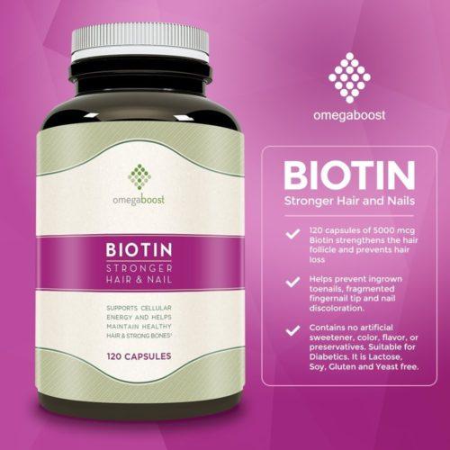 Omega Boost Biotin | Better Top Ten